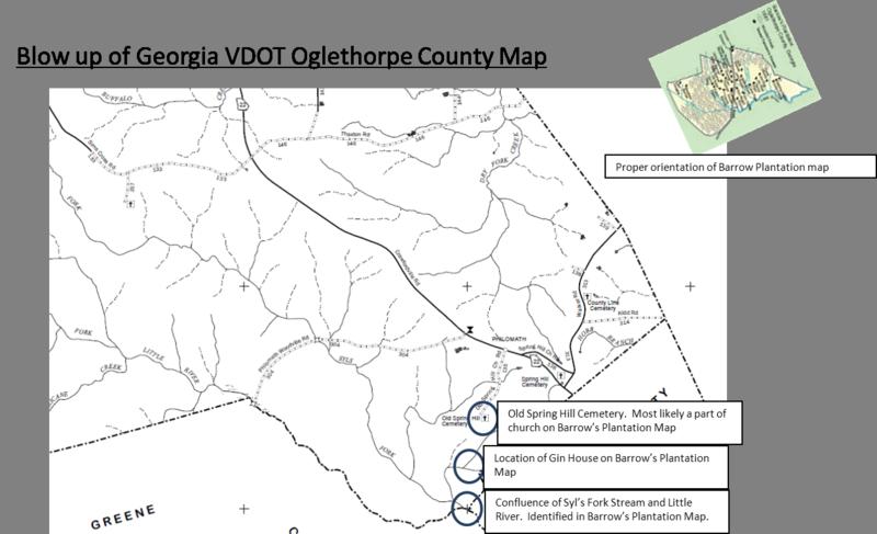 Map Of Georgia Plantations.Problem 7 Maps Oglethorpe County Georgia Dan S Historian As